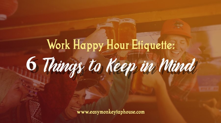 Happy Hour Etiquette